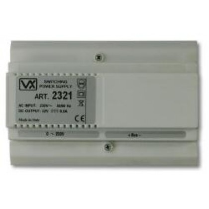 Videx 2321 32Vdc din boxed additional power supply