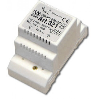 Videx 321 12Vac transformer 15VA with electronic fuse