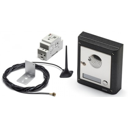 Videx GSM/4KS surface mount audio intercom kit with 1 to 10 buttons