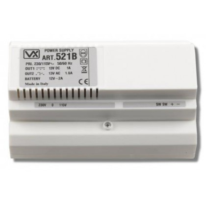 Videx 521B power supply for intercom systems