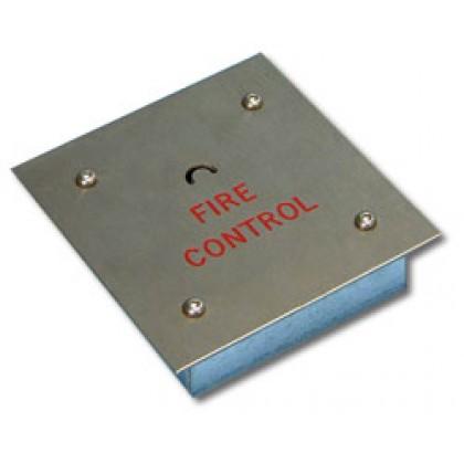 Videx FS/CK - Flush crescent key fireman switch